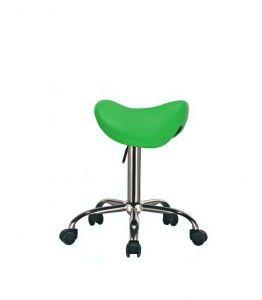 Kosmetický taburet BULL zelený