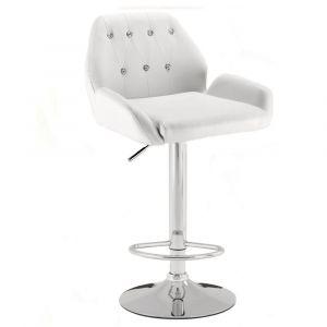 Barová židle LION - bílá