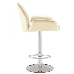 Barová židle LION krémová