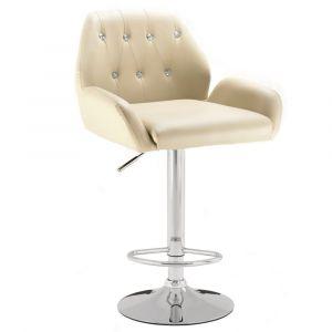 Barová židle LION - krémová
