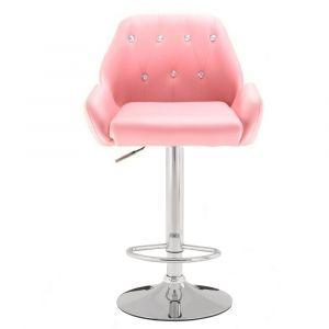 Barová židle LION růžová