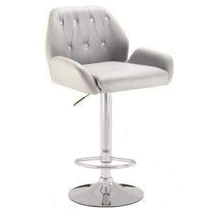 Barová židle LION - šedá