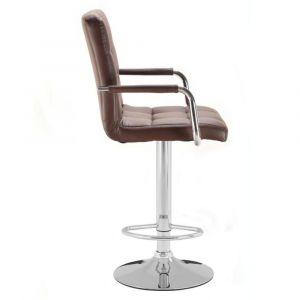 Barová židle VERONA hnědá