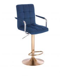 Barová židle VERONA VELUR