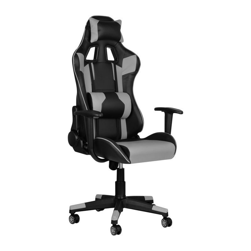 Herní židle Premium 916 - šedá