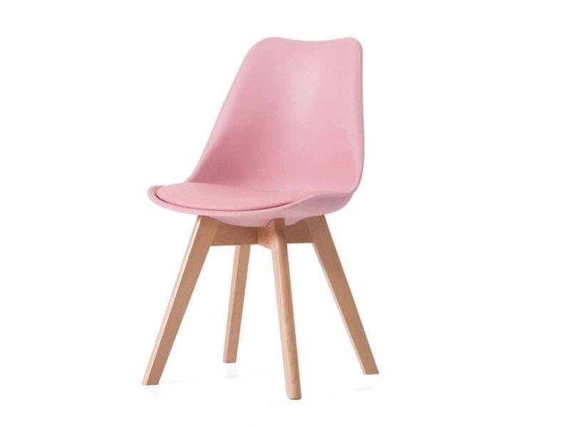 Jídelní židle Bali - růžová