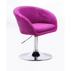 Židle VENICE VELUR (domov, kancelář)